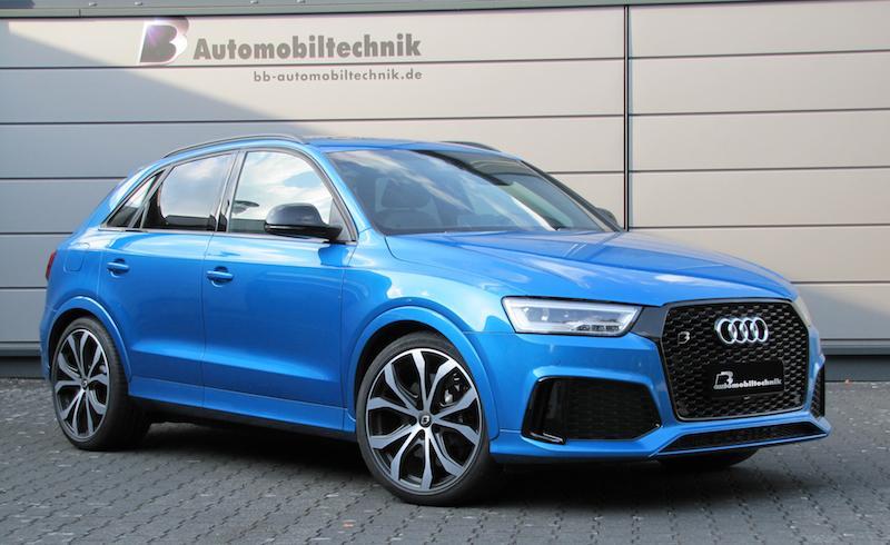 Хорошая новость для владельцев кроссовера Audi RSQ3 в топовой комплектации Performance