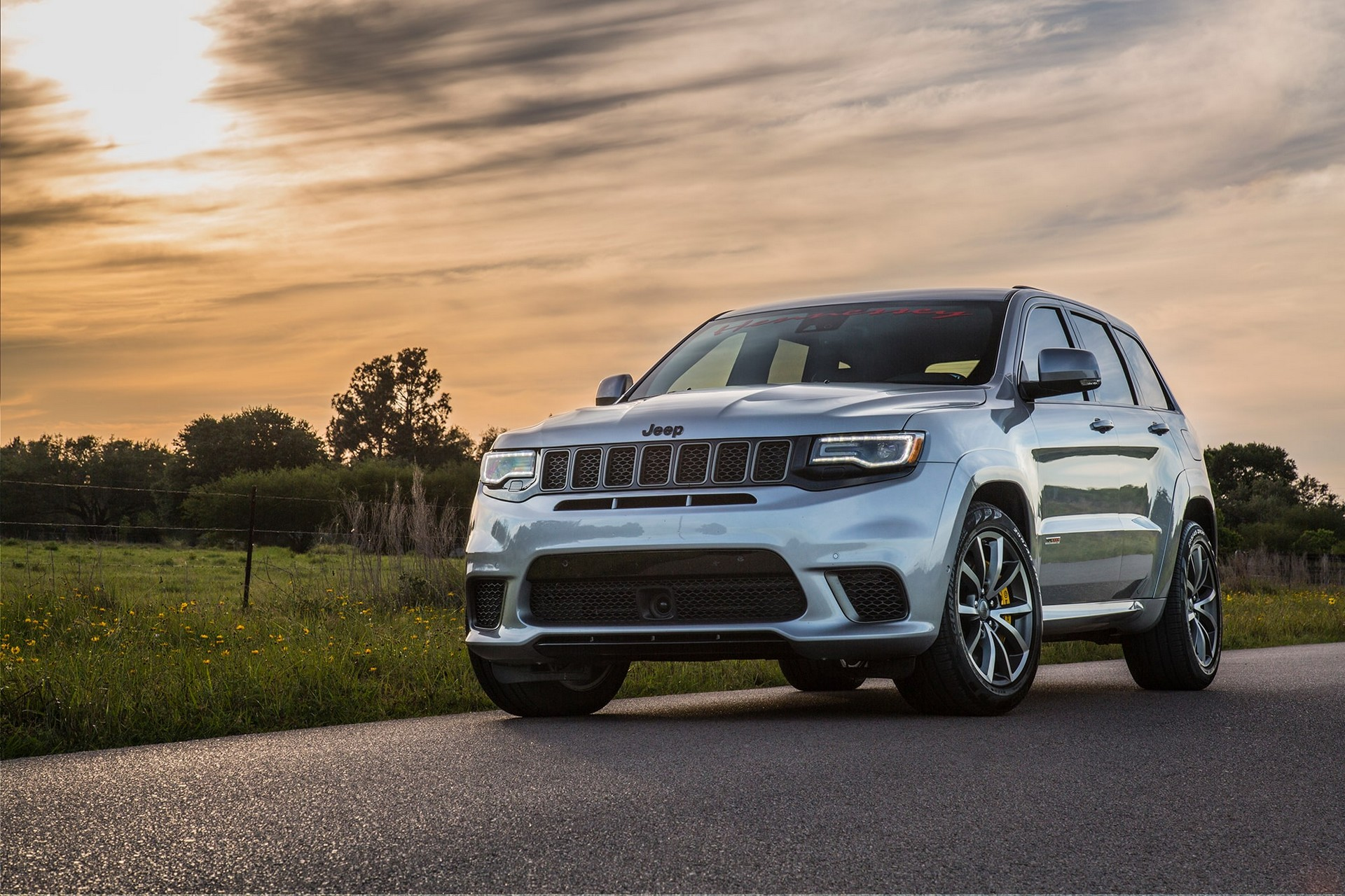 The Trackhawk variant of the Jeep Grand Cherokee is considered among the fastest-going SUVs in the world