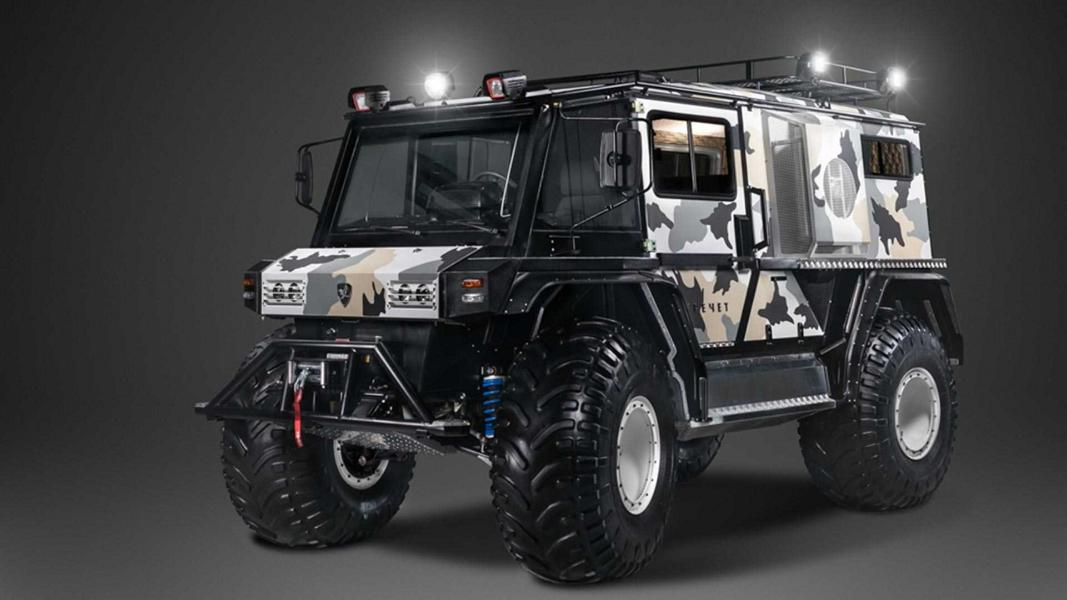 На днях российская команда тюнеров Technoimpulse представила устрашающий внедорожник Z 210-91 стоимостью €75 000