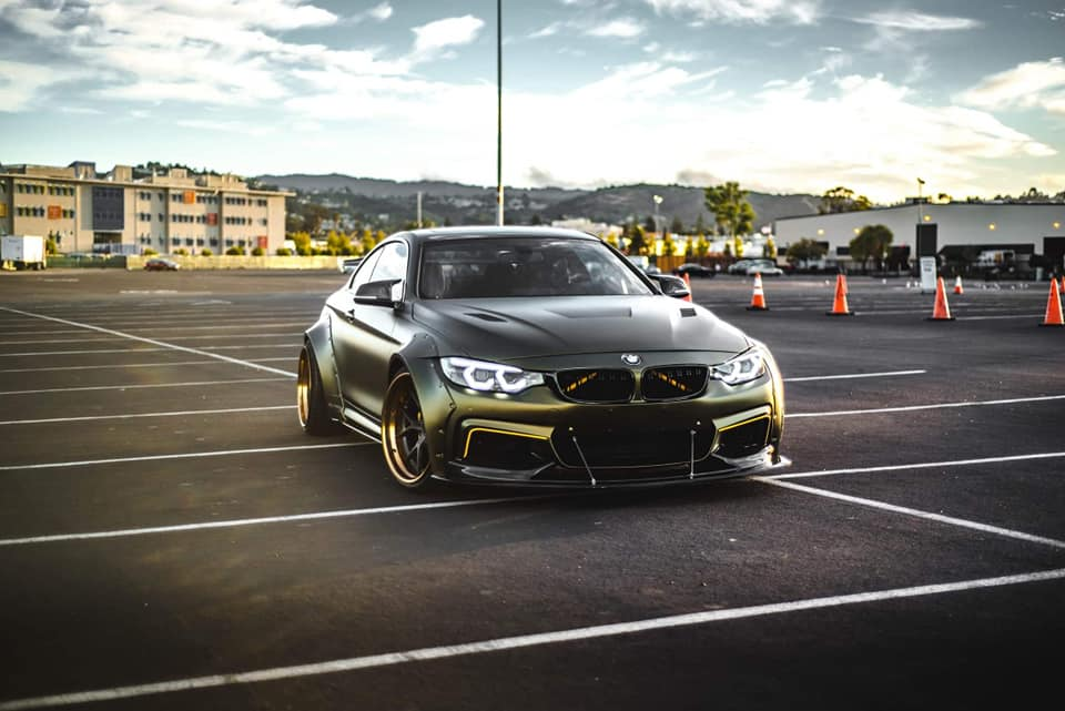 Polish tuner SR66 Design has launched sales of a new custom wide-body kit for the BMW 4 Series (F32)