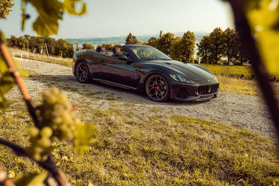The luxury-laden Maserati GranTurismo sports car and its open-top version, the GranCabrio, can now take advantage of a complete tuning program designed by Pogea Racing