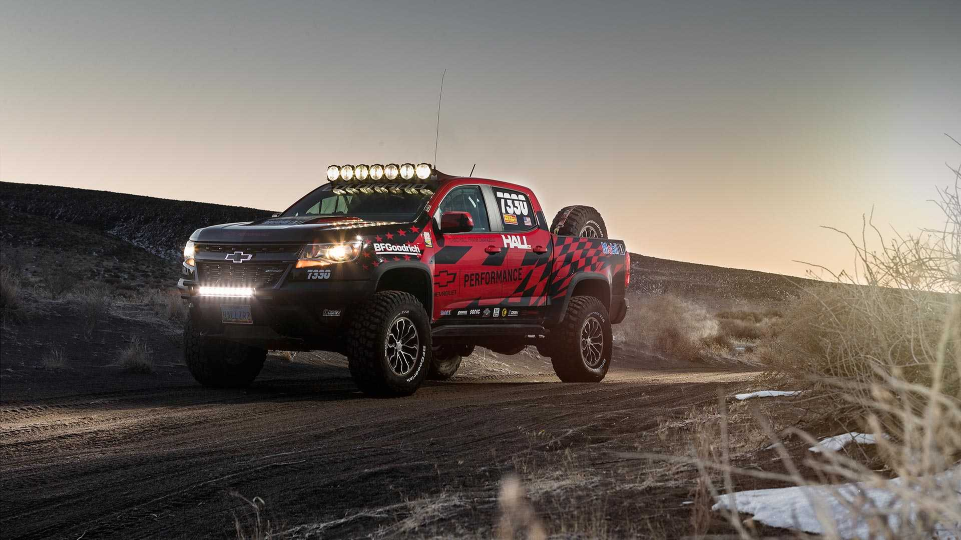 Chevrolet just announced 15 performance parts for the new Colorado ZR2 Bison pickup truck