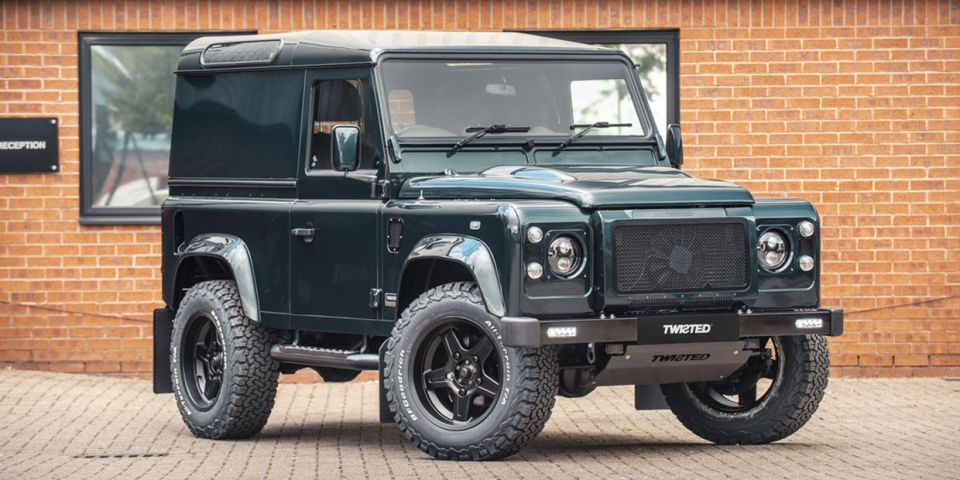 In 2016, car tuner Twisted Tuning made quite a splash when it spent £7,500,000 on buying 240 Land Rover Defenders for customization