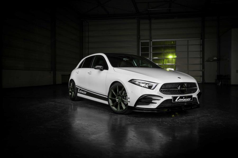 Kомпания анонсировала выпуск форсированных Mercedes A250 Green Series