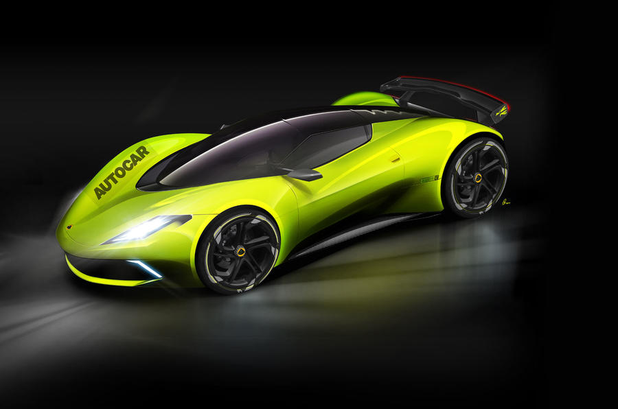 Электрический гиперкар Lotus с приводом на все четыре колеса назовут Omega и стоить он будет €2 250 000