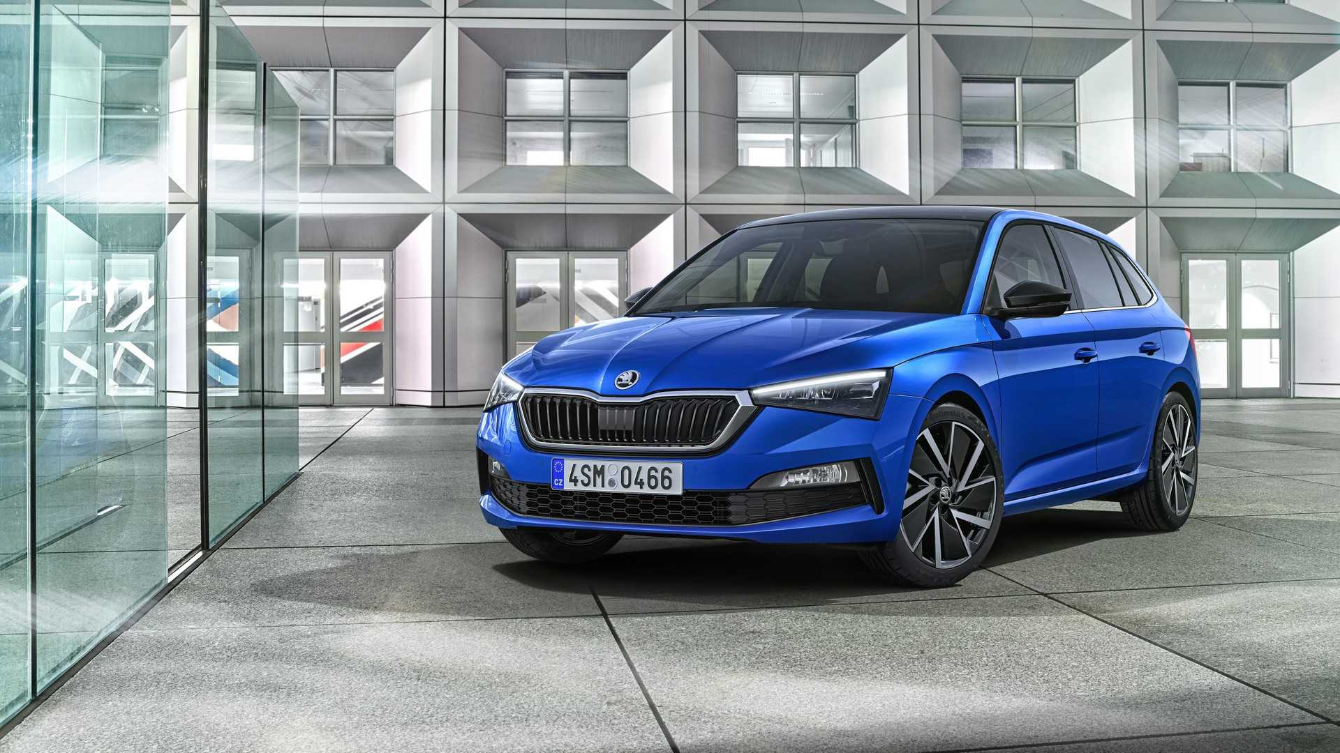 Skoda unveils the Scala hatchback