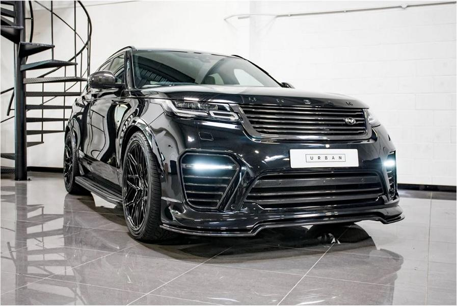 Aside from the kit, the Range Rover Velar by Urban Automotive gets a set of enormous 23-inch wheels and a lowering kit