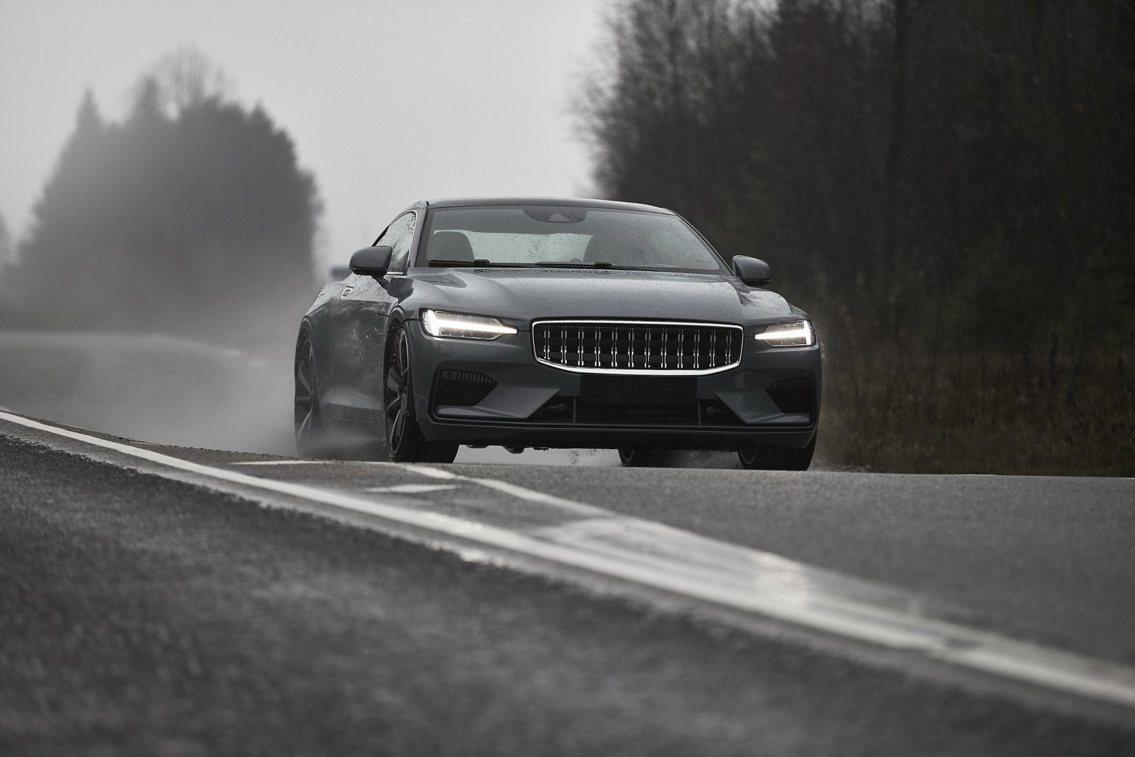 Car maker Polestar has released test footage of the Polestar 1, the development mule of its first-ever hybrid coupe