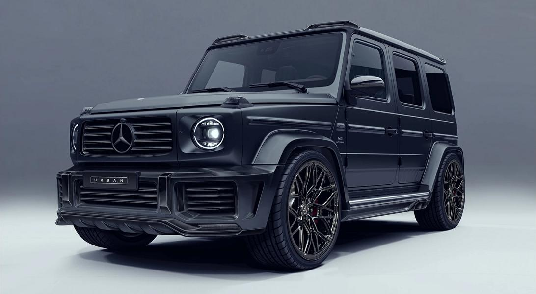 England-based car atelier Urban Automotive has released two early sketches of a new body kit for the 2018 Mercedes G63 AMG (W463)