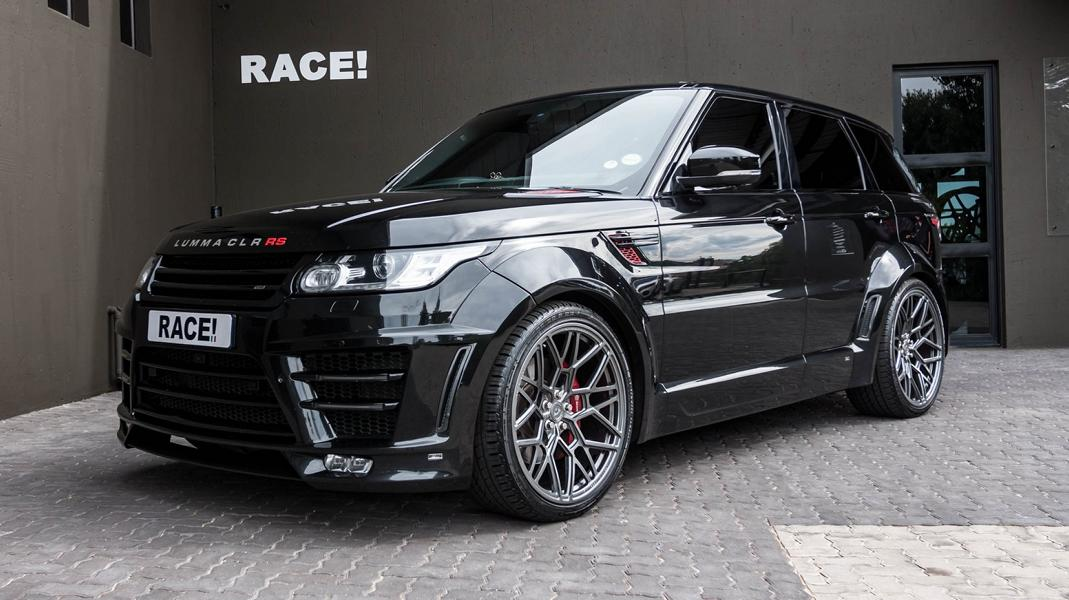 Car tuner RACE! South Africa (Johannesburg, SAR) has released a custom Range Rover Sport wearing the Lumma CLR RS body kit