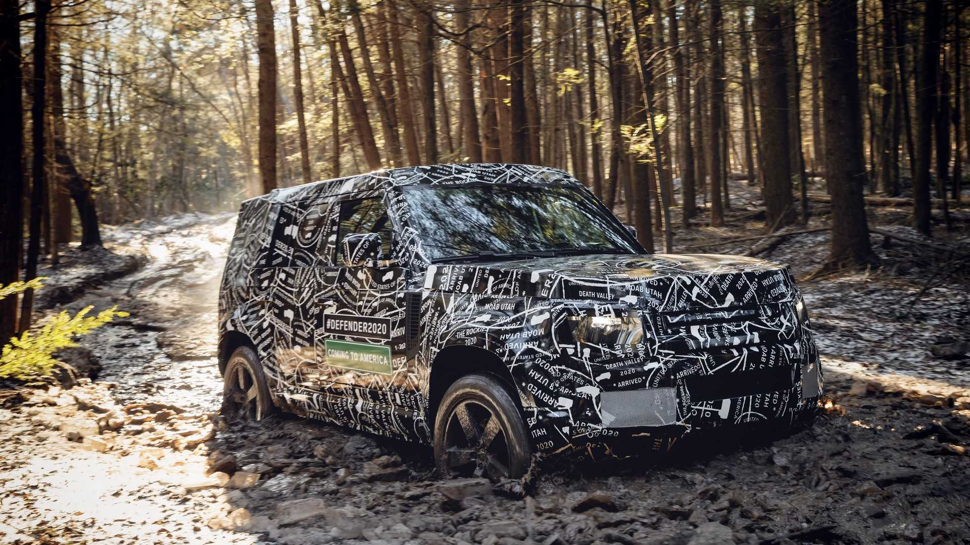 Land Rover Defender Is Finally Coming Soon