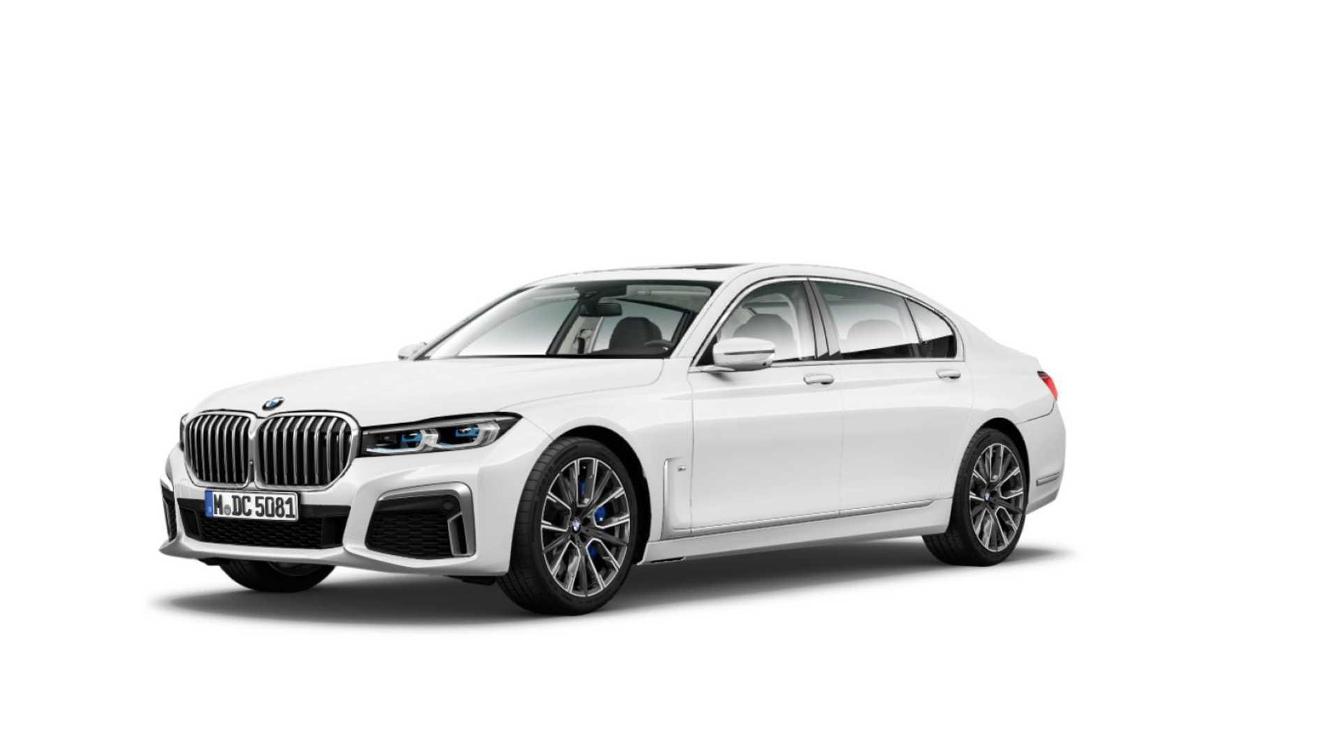 Опубликованы первые официальные снимки обновленного BMW 7-Series