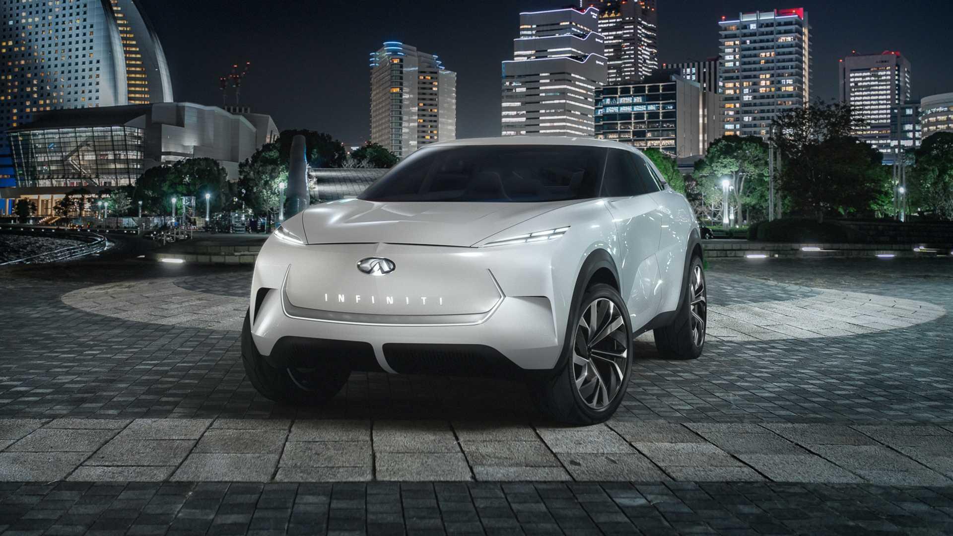 Японская автомобилестроительная компания «Инфинити» привезет на мотор-шоу в Детройт электрический прототип QX Inspiration