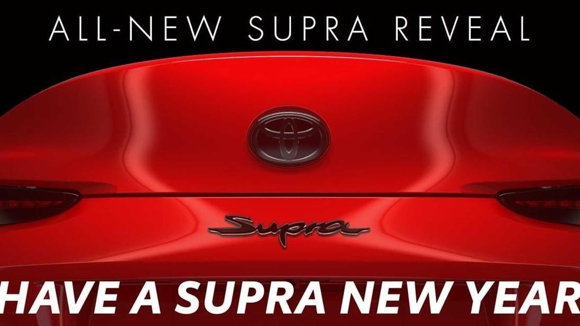Совсем скоро состоится премьера возрожденной Toyota Supra