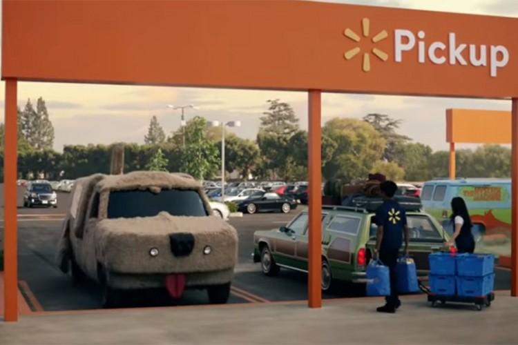 Крупная розничная сеть Walmart распространила видео, в котором рассказала о своей службе доставки