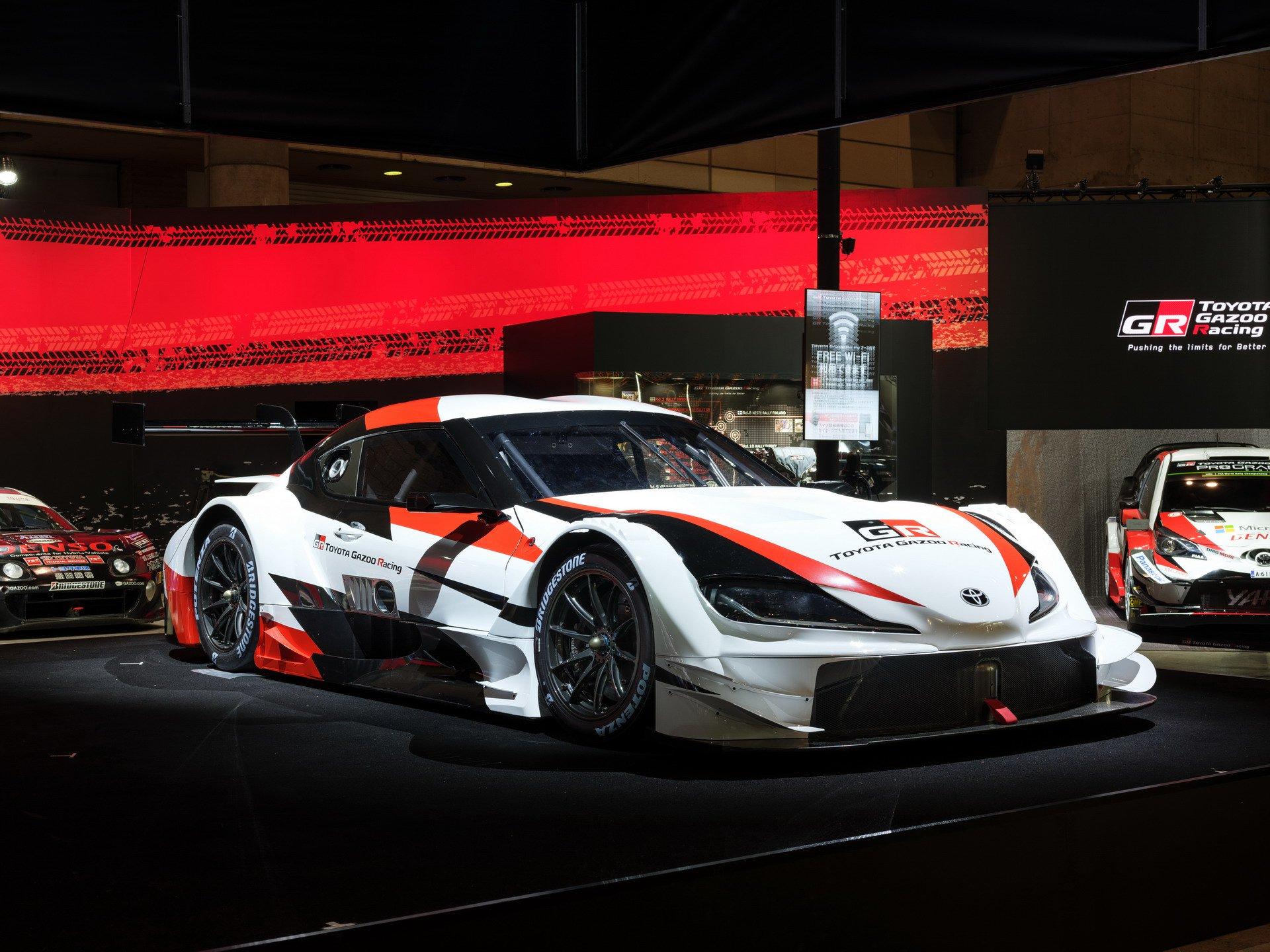 На специальном мероприятии в Токио прошла премьера концептуальной «Супры», созданной для чемпионата Super GT