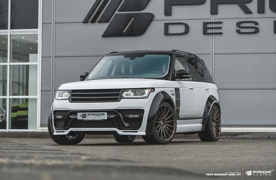 The new styling kit lends the luxury SUV an even more impressive, even formidable, appearance