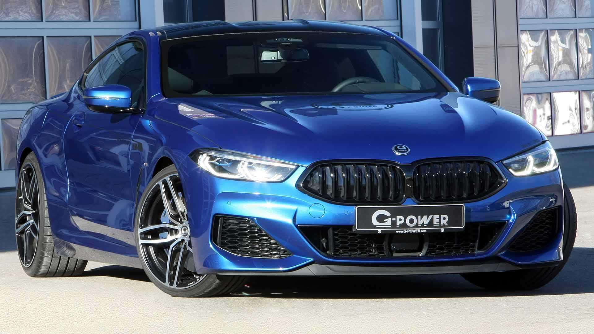 На днях мастерская G-Power представила модернизированный BMW M850i