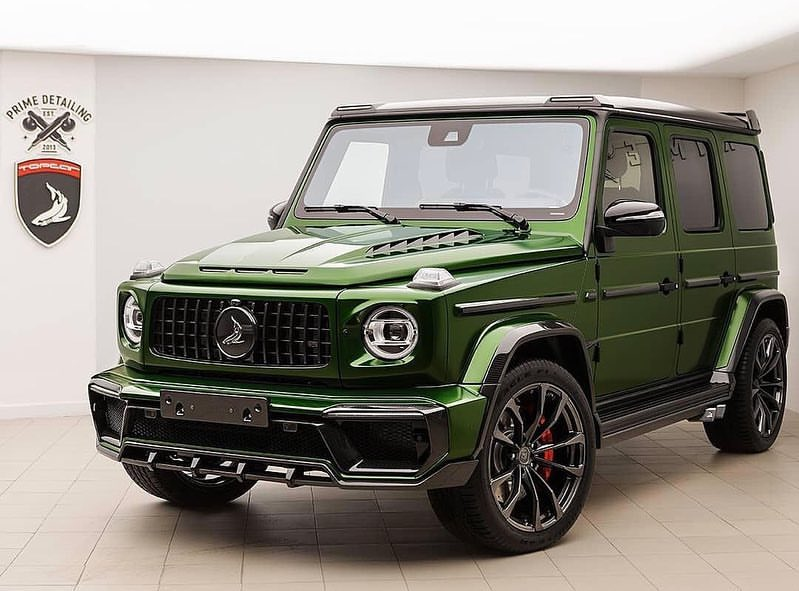 Russian tuner TopCar has adapted its famous Inferno body kit to work flawlessly with the fourth-gen Mercedes G-Class (W464)