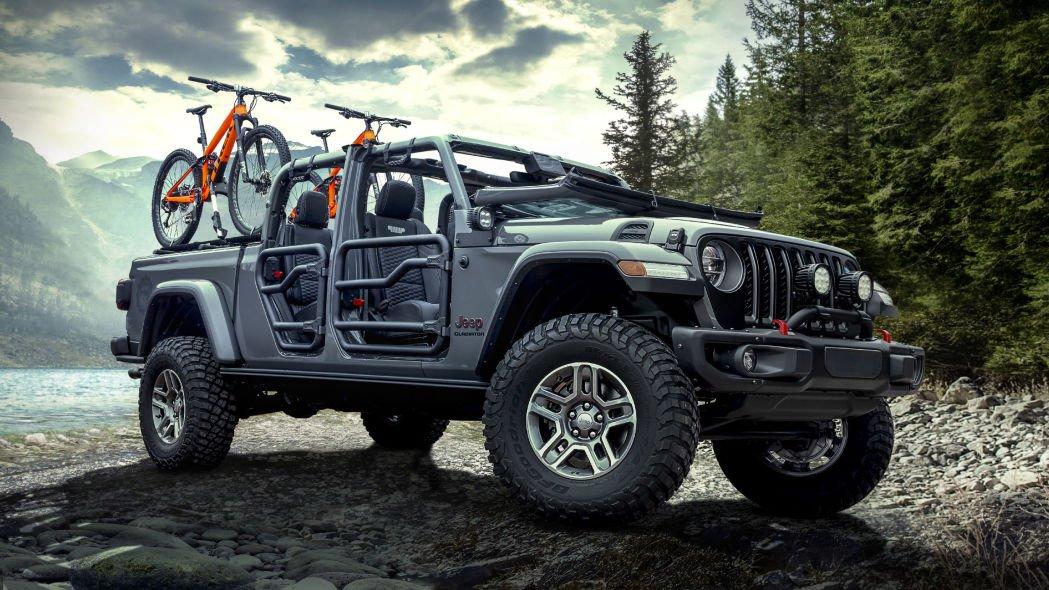 Katzkin и Mopar представили Jeep Gladiator с персонализированным салоном
