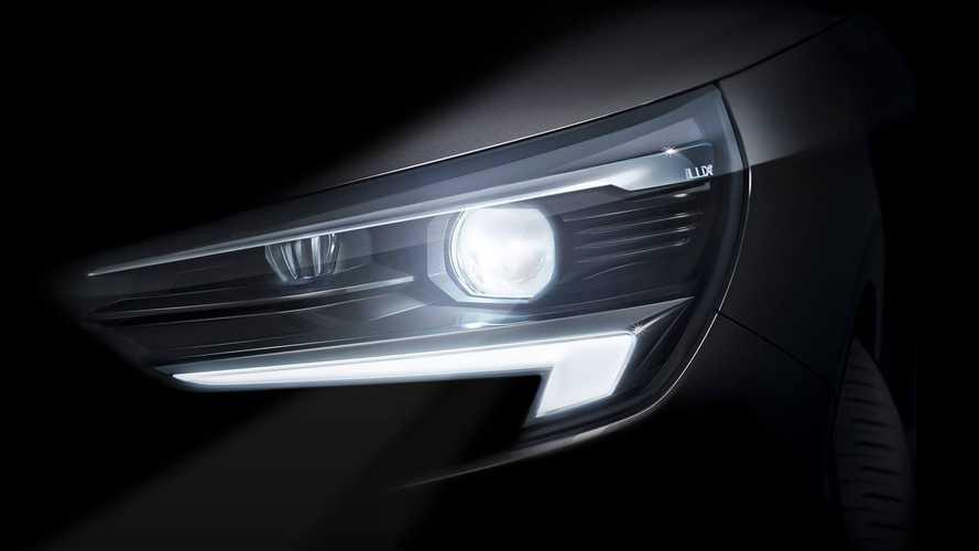 Компания «Опель» опубликовала первое официальное изображение экстерьера Corsa VI поколения