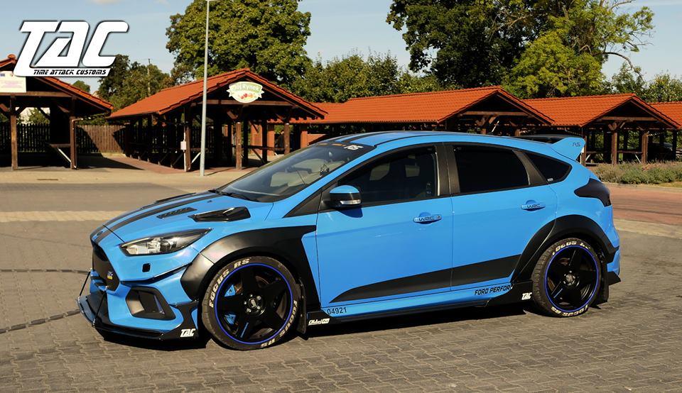 Мастерская Time Attack Customs представила программу обновления Ford Focus RS III поколения