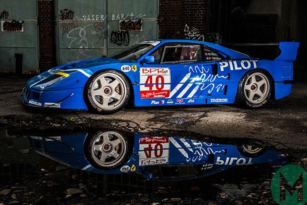 На днях в Париже продали 31-летний Ferrari F40 LM