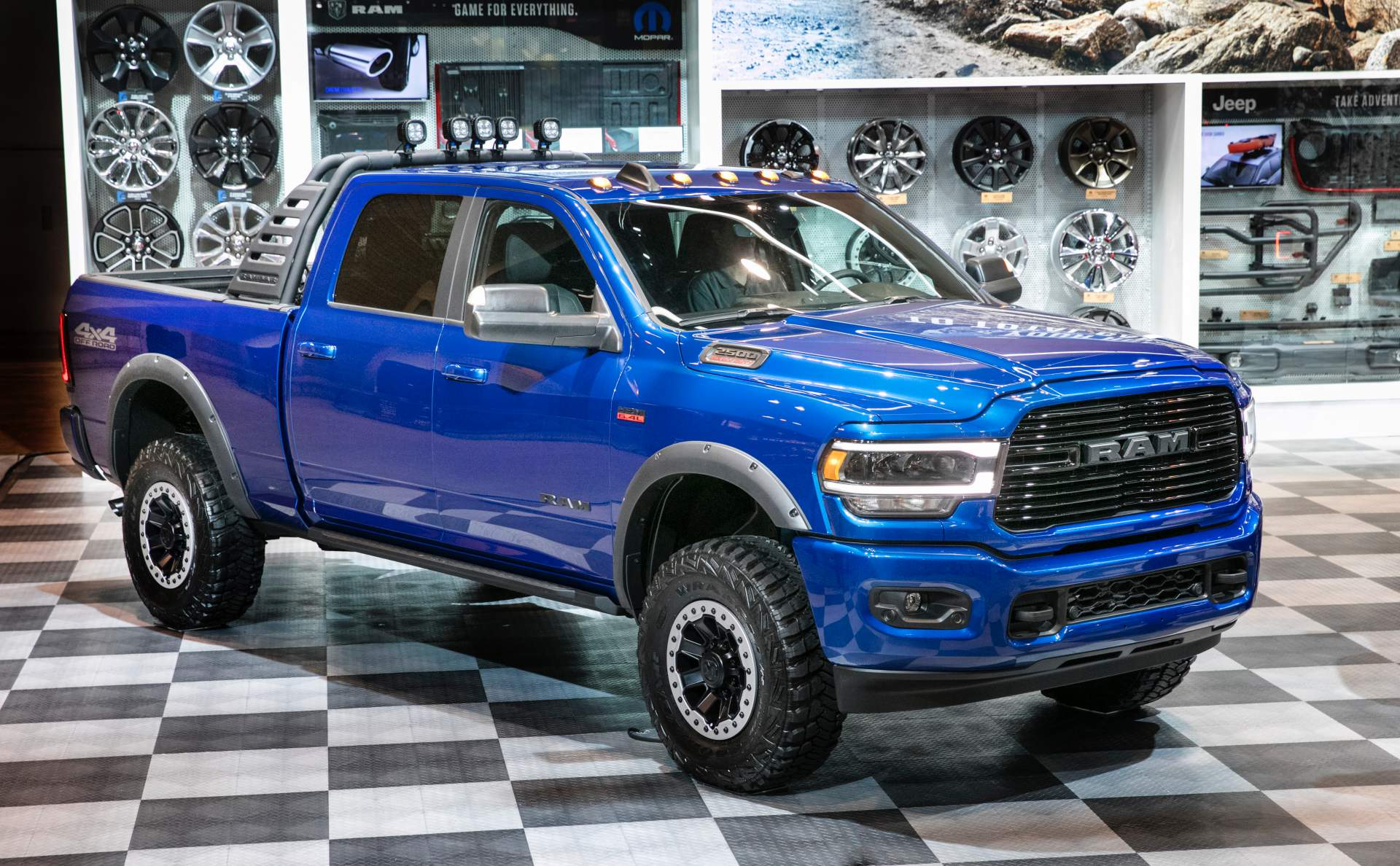 The 2019 Chicago Auto Show proved to be quite a treat for Ram pickup truck lovers