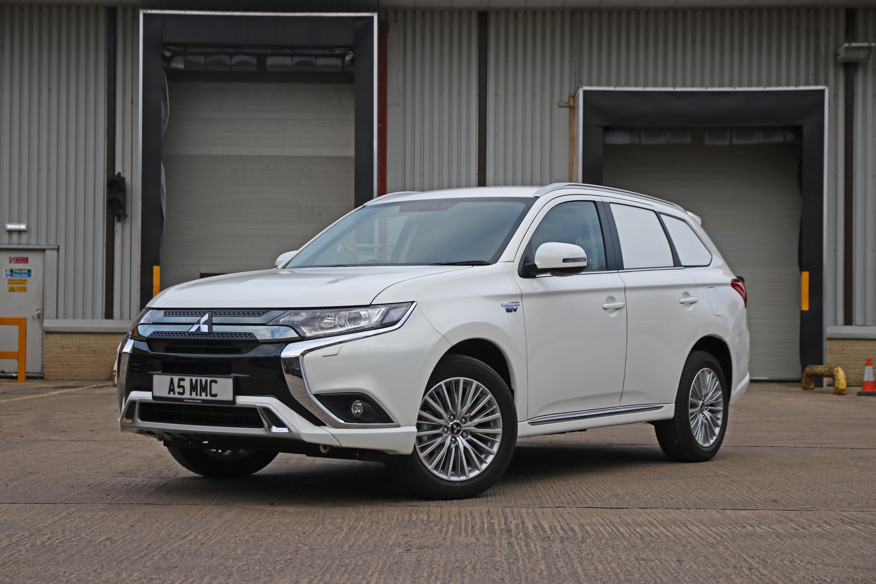 The British subdivision of Mitsubishi will soon reveal a new mass-produced commercial van based on its existing SUV model, the Outlander PHEV
