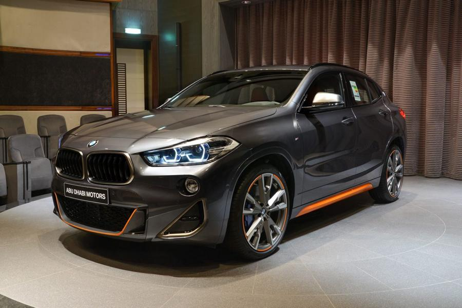 BMW Abu Dhabi Motors has recently put up this top-specced BMW X2 M35i (F39) M Performance for sale in the United Arab Emirates