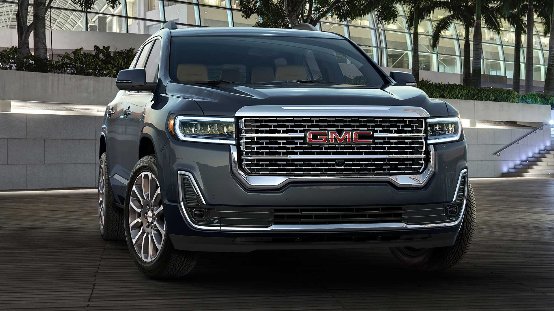 GMC has finally taken the wraps off its facelifted seven-seat SUV Acadia