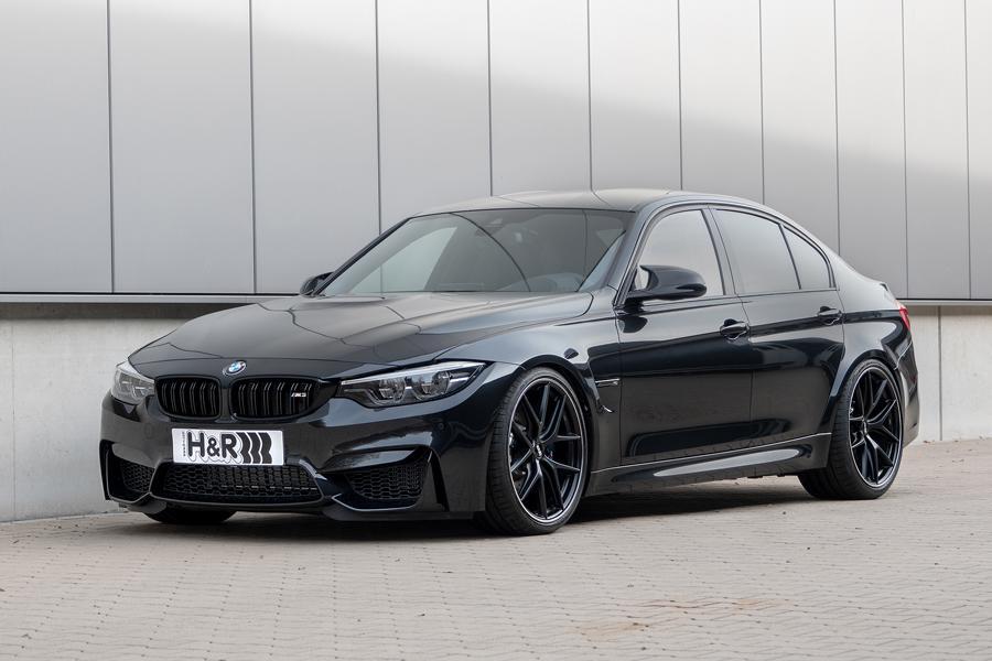 Немецкий производитель спортивных амортизаторов и пружин H&R представил пакет опций для всего семейства BMW M3
