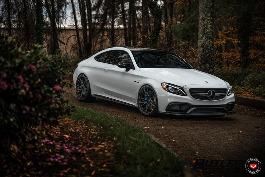 Колесный бутик Butler Tires and Wheels представил модифицированный Mercedes-AMG C63s Coupé (C205)