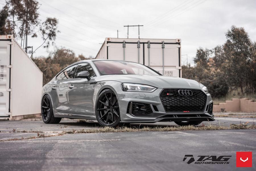 На днях команда американской мастерской Tag Motorsports выпустила свой первый тюнингованный Audi RS5-R Sportback