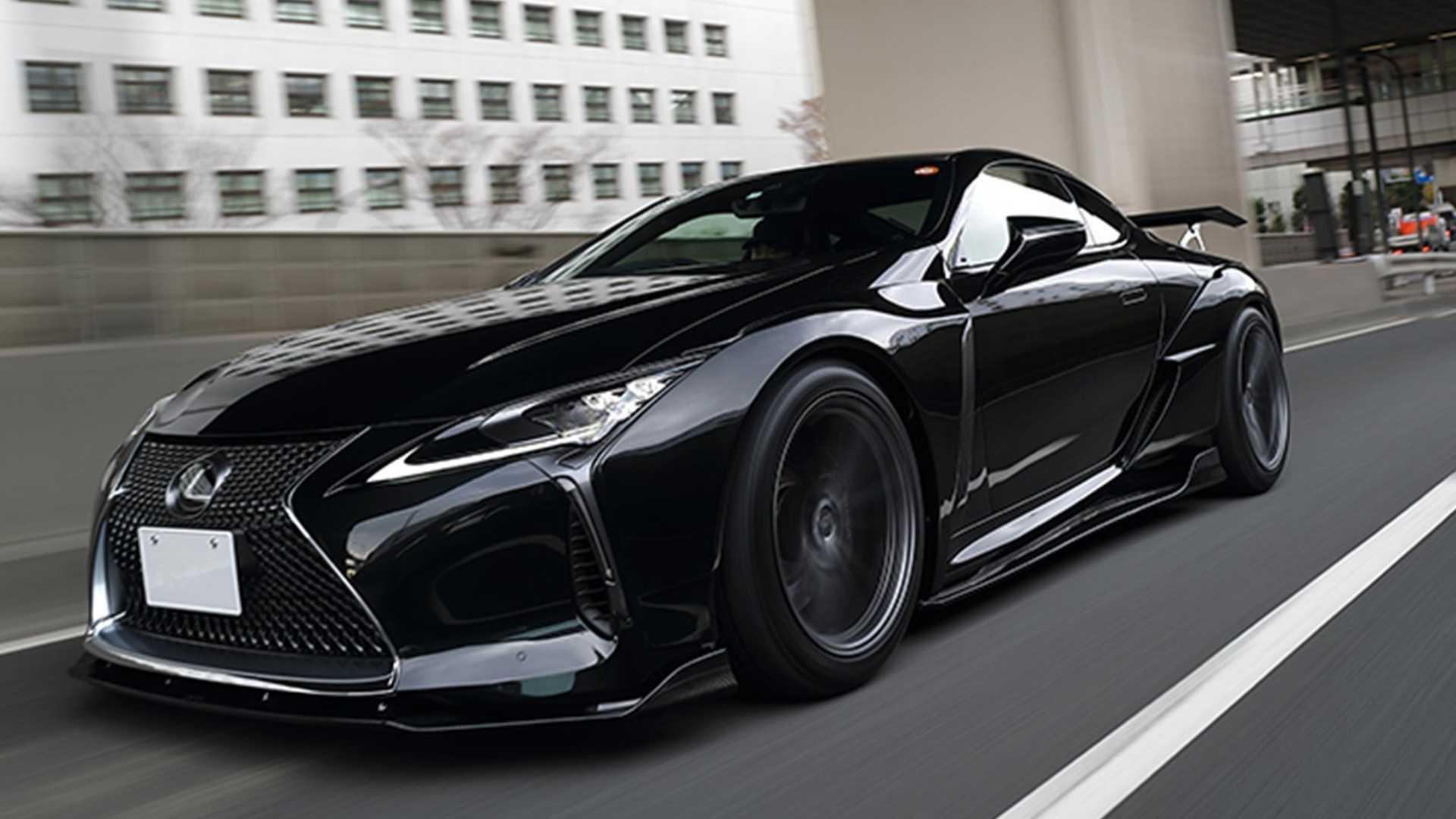 Команда японской мастерской Artisan Spirits в последнее время работала над адаптацией своего широкофюзеляжного кузовного обвеса Black Label GT под роскошный спорткар Lexus LC