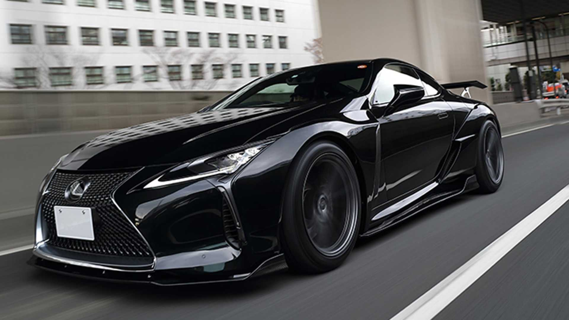 The team over at Japanese tuner Artisan Spirits has adapted its popular Black Label GT wide body kit to the Lexus LC series