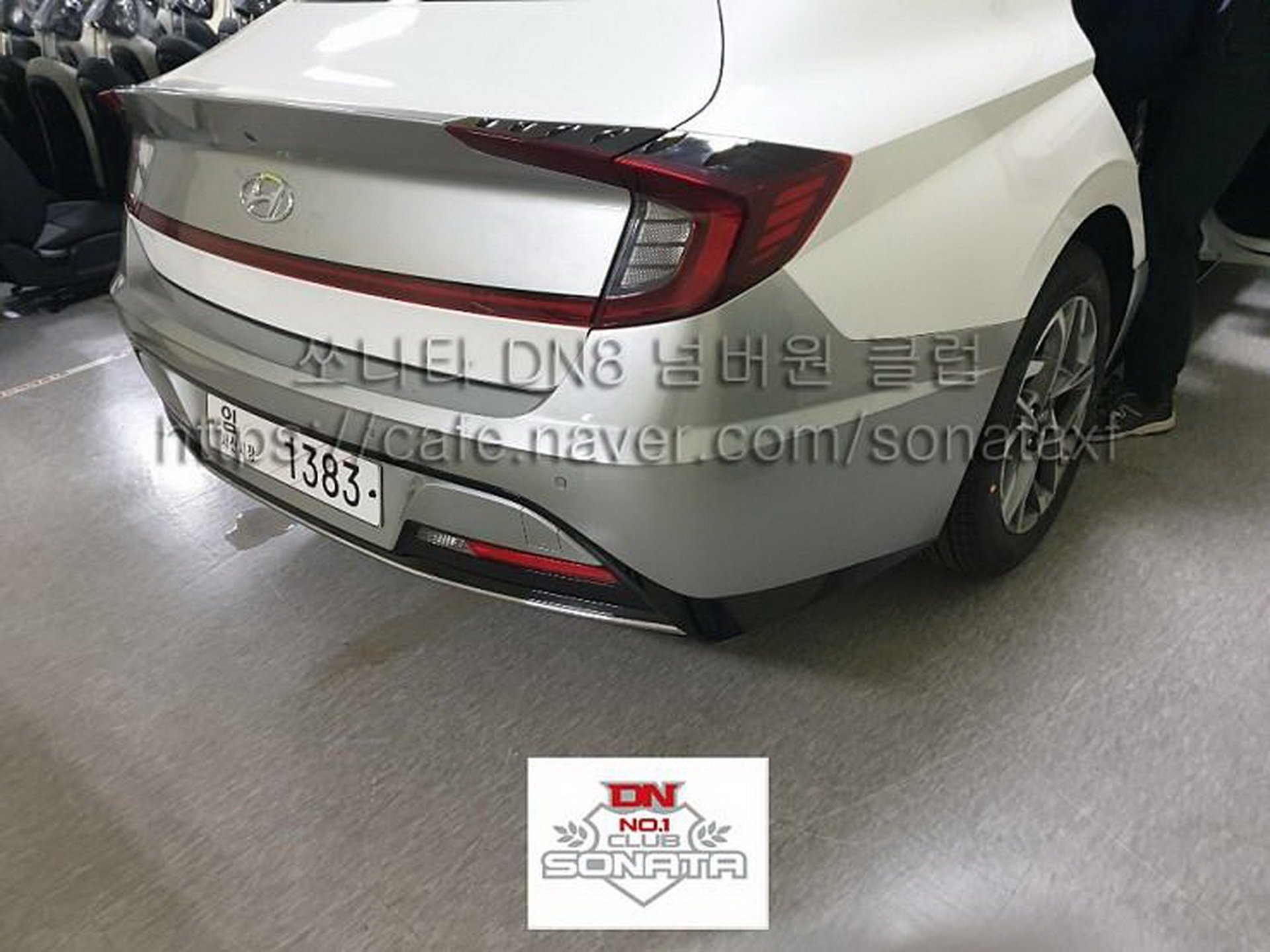 Photos showing the body and interior of the new Hyundai Sonata have become available recently