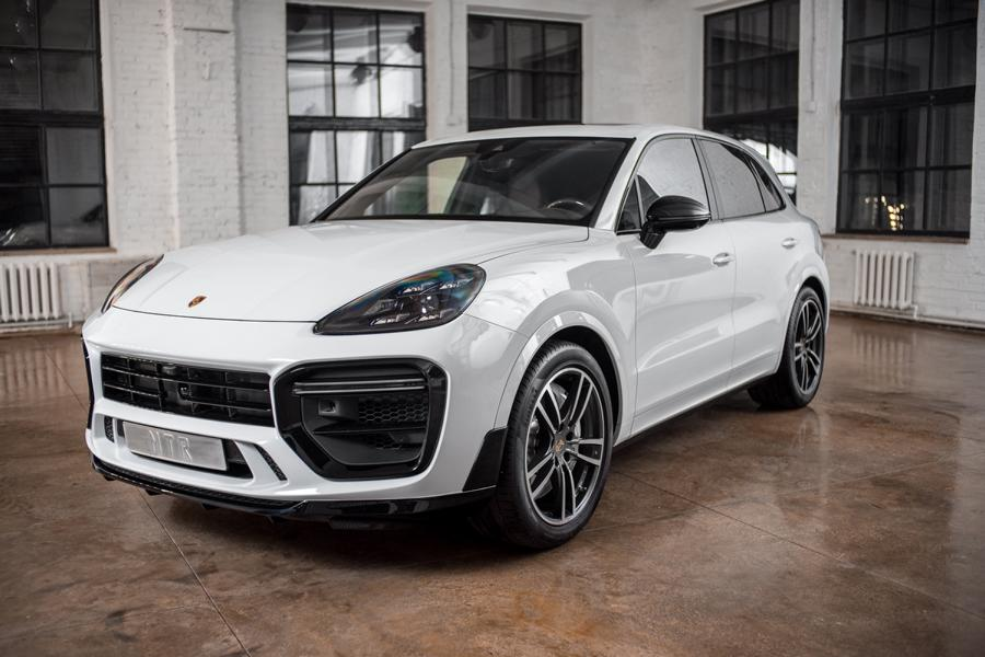 The Russian tuners over at MTR Design have designed a somewhat understated, but stylish aero kit for the current-gen Porsche Cayenne (PO536)