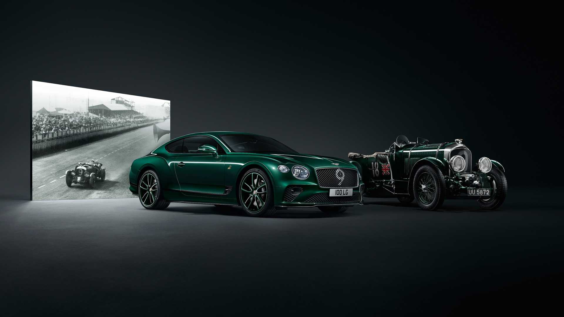 Bentley Continental GT Number 9 Edition celebrates 100 Years of Bentley