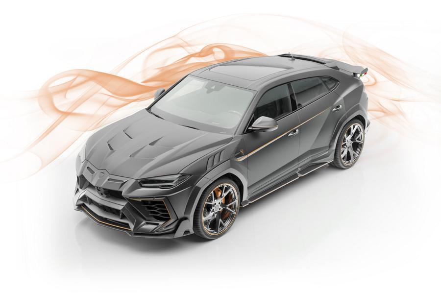 На автомобильную выставку в Женеве известная немецкая мастерская Mansory привезла роскошный внедорожник Venatus – тюнингованный вариант Lamborghini Urus