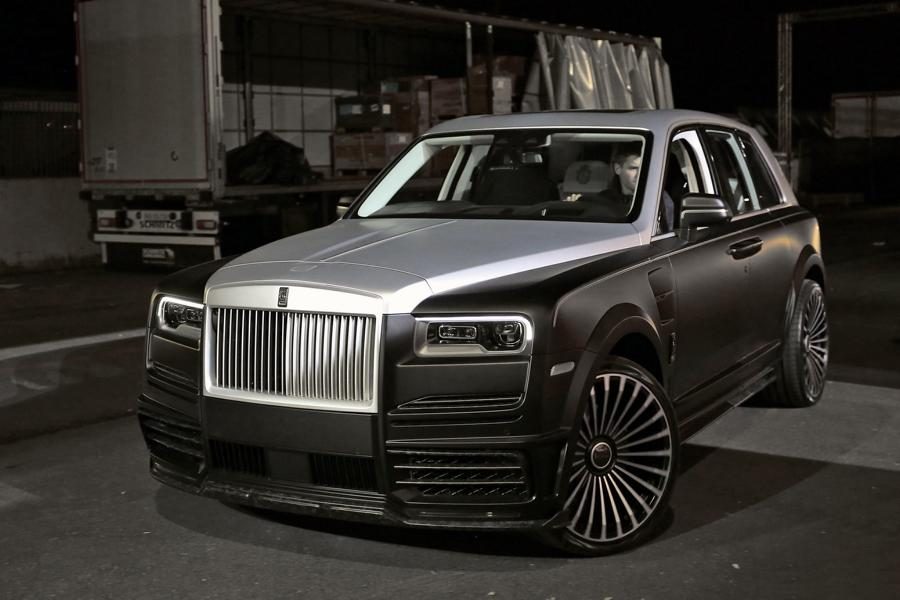 Let us dedicate some more time to custom cars built by German tuner Mansory today