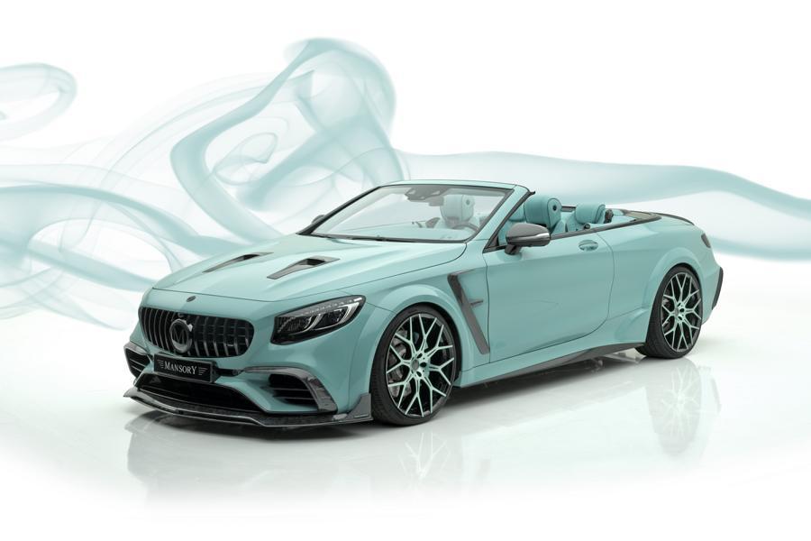 В рамках автошоу в Женеве элитный немецкий тюнер Mansory представил свою очередную новинку – кабриолет Apertus Edition на базе Mercedes-AMG S 63 4MATIC+