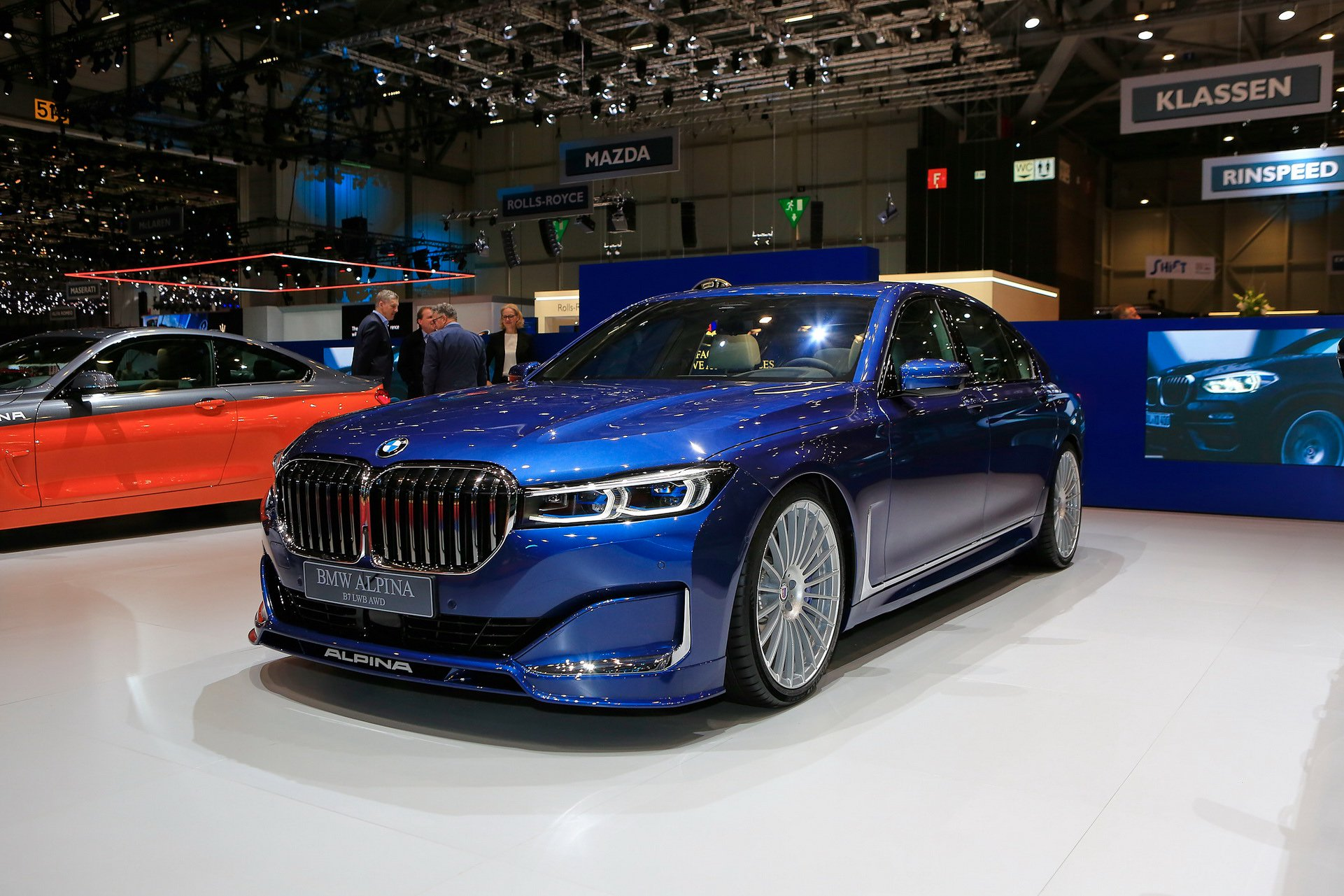 Alpina has taken the wraps off its updated flagship sedan/saloon model called the 2020 B7 xDrive