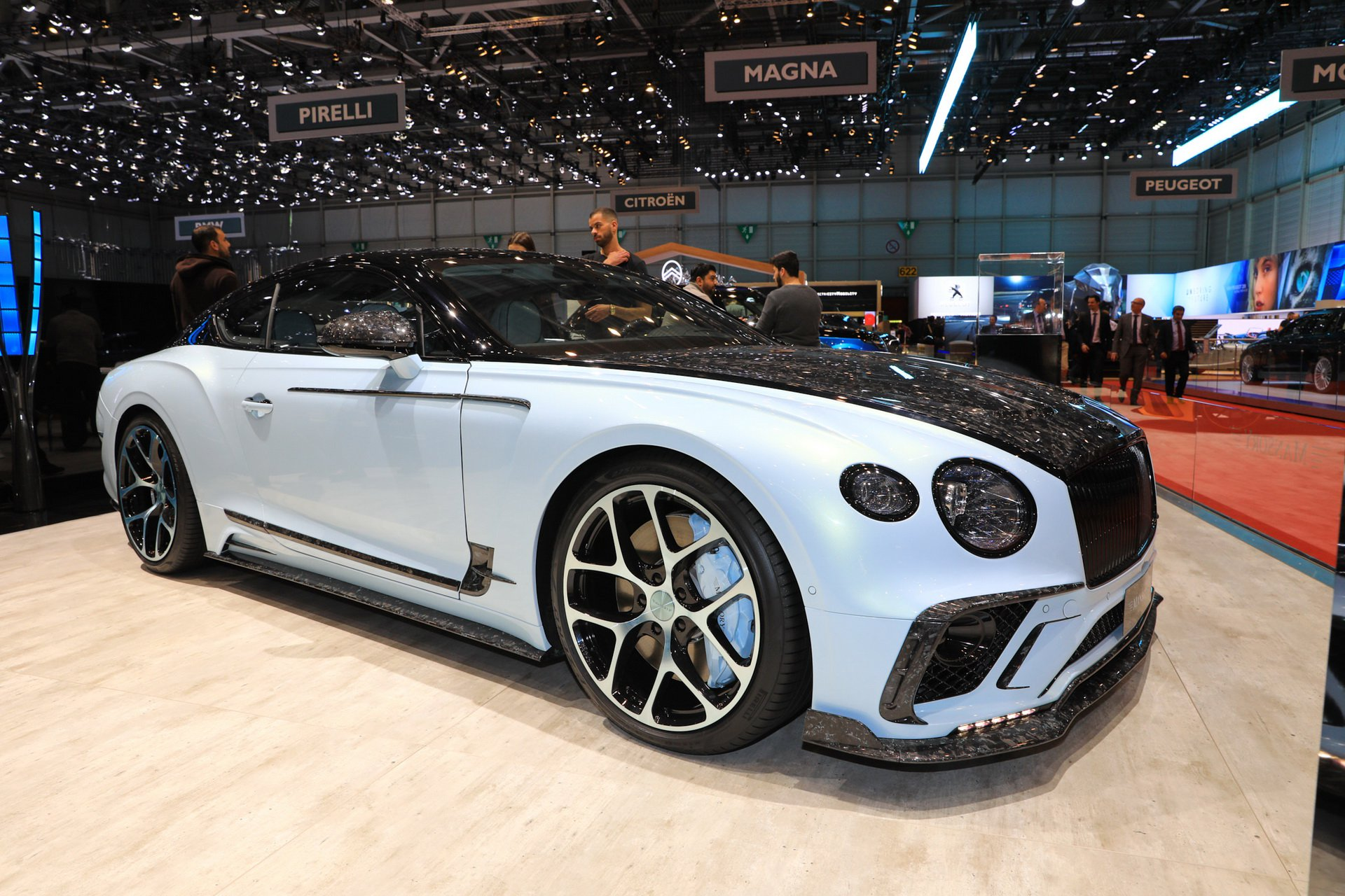 Of all Mansory works exhibited at the 89th Geneva International Motor Show in Switzerland, this custom Bentley Continental GT will surely be remembered as one of the coolest