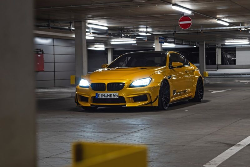 Недавно команда тюнинг-ателье M&D Exclusive Cardesign завершила кастомизацию купе BMW 6 Series Coupe 650i (F13)