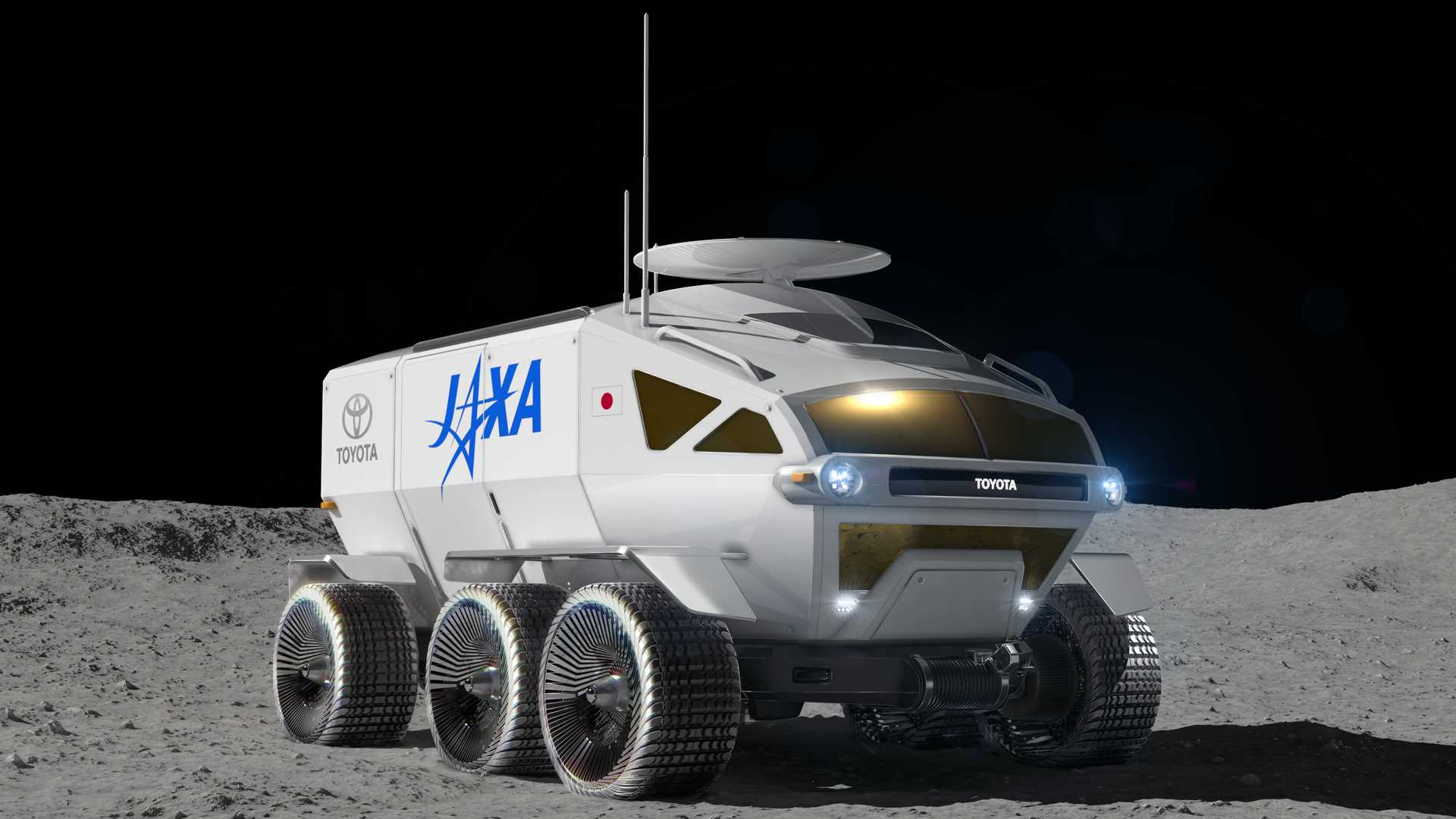Toyota is creating a crewed lunar rover for Japan's space agency
