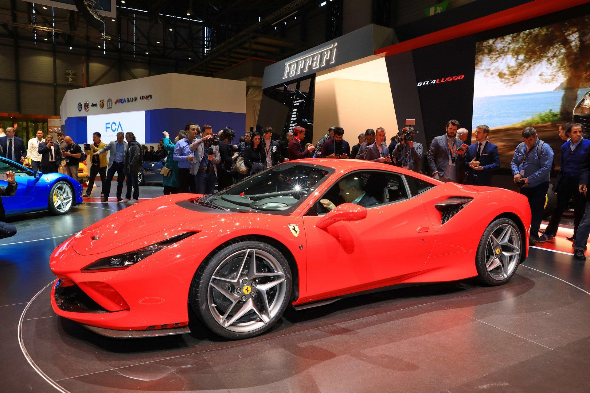 Компания «Феррари» приоткрыла некоторые подробности о новом F8 Tributo