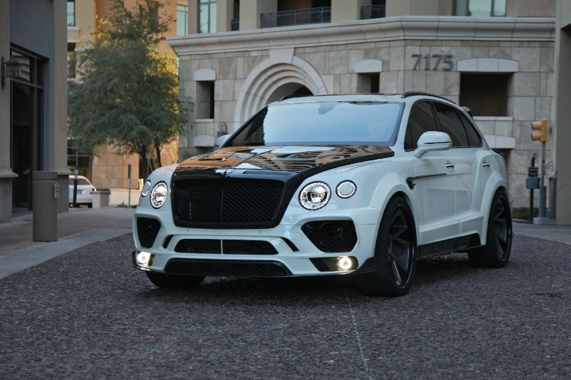 На днях британское тюнинг-ателье Creative Bespoke представило кастомную версию Bentley Bentayga