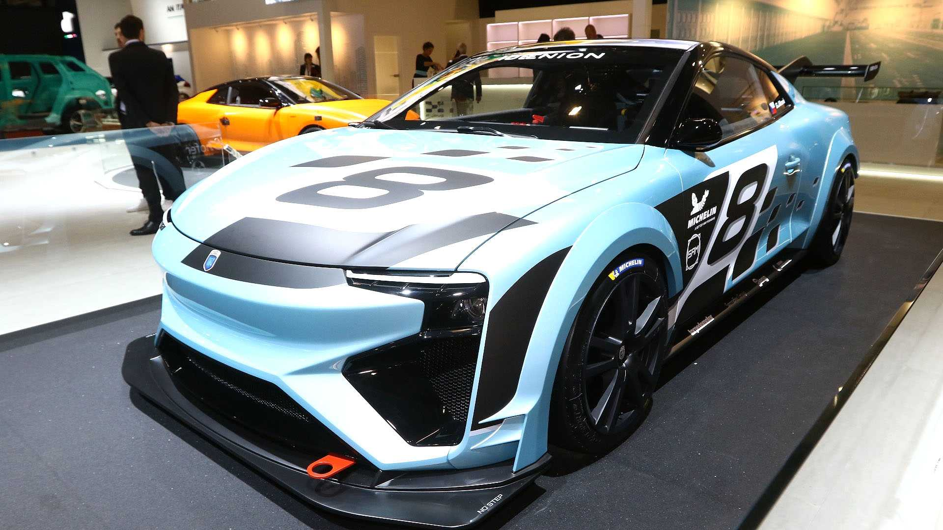 At the ongoing 2019 Geneva Motor Show, German engineer and businessman Roland Gumpert unveiled the track-going Race version of his methanol/electric super sports car Nathalie introduced last year