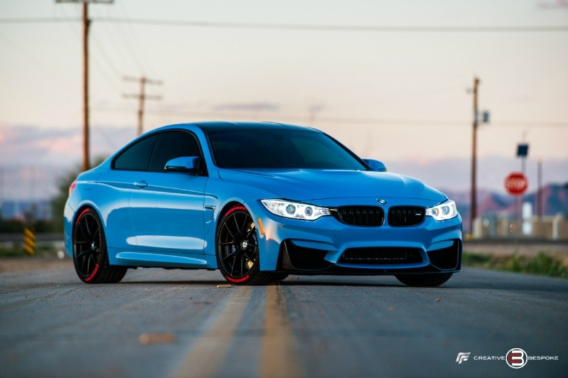 Creative Bespoke is a name we generally hear in conjunction with luxury vehicle customization projects of one kind or another. This time around, however, a client asked the British tuner for a slight makeover of his BMW M4